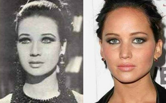 12 celebrity doppelgangers from past